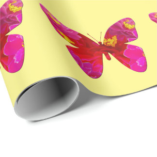 Sweet Vigorosa Butterfly Wrapping Paper