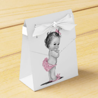 Sweet Vintage Baby Shower Favour Boxes