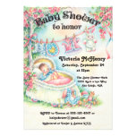Sweet Vintage baby shower invitations
