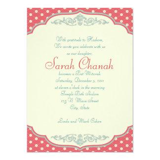 """Sweet Vintage Invitation 5.5"""" X 7.5"""" Invitation Card"""