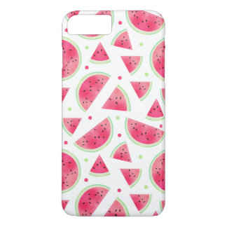 Sweet Watercolor Watermelon Pattern iPhone 8 Plus/7 Plus Case
