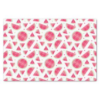 Sweet Watercolor Watermelon Pattern Tissue Paper