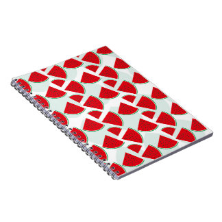 Sweet Watermelon Spiral Notebook