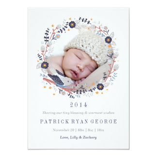Sweet Wreath Birth Announcement