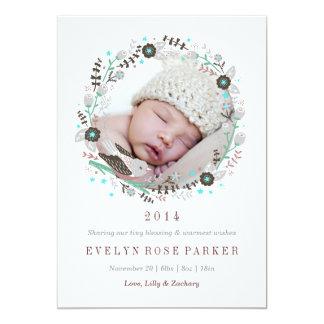 Sweet Wreath Birth Announcement
