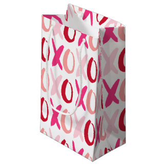 Sweet XOXO Pattern Small Gift Bag