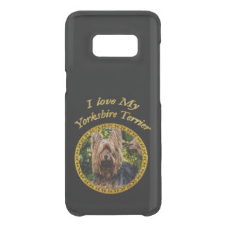 Sweet Yorkshire terrier small dog Uncommon Samsung Galaxy S8 Case