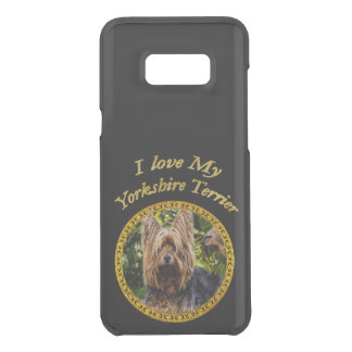 Sweet Yorkshire terrier small dog Uncommon Samsung Galaxy S8 Plus Case