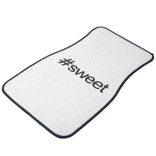sweet car mat