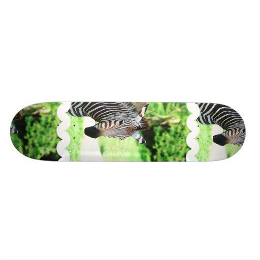 Sweet Zebra Skateboard