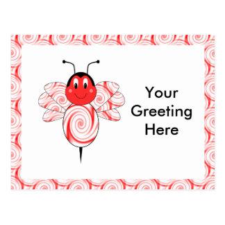 SweetBee Bumble Bee Postcard