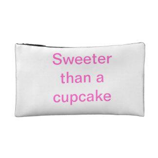 Sweeter than a cupcake cosmetic bag
