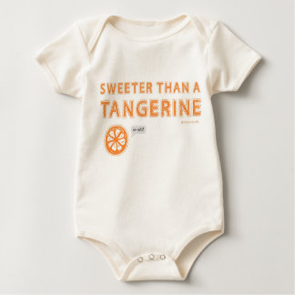 Sweeter than a Tangerine Baby Bodysuit