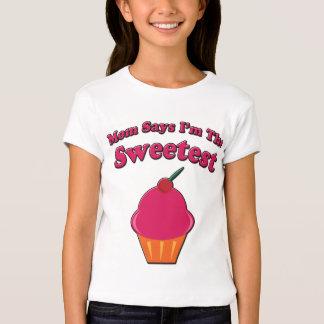 Sweetest Cupcake Saying Tshirt