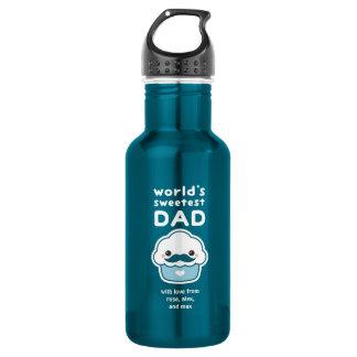Sweetest Dad 532 Ml Water Bottle
