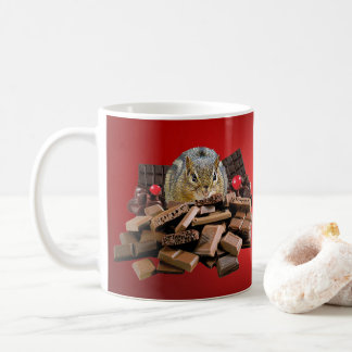 Sweetest Day Chocolate Chipmunk Coffee Mug