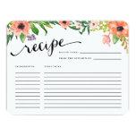 Sweetest Day | Recipe Card 11 Cm X 14 Cm Invitation Card