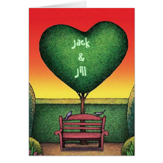 Sweetest Day Valentine Card Personalize a Topiary