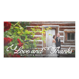 Sweetest Day   Wedding Thank You Photo Card
