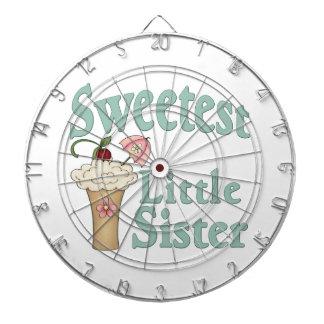 Sweetest Little Sister Malt Dart Board