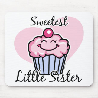 Sweetest Little Sister Mouse Pads