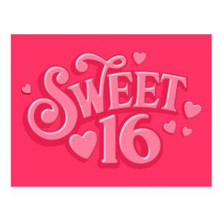 Sweetheart 16 postcard