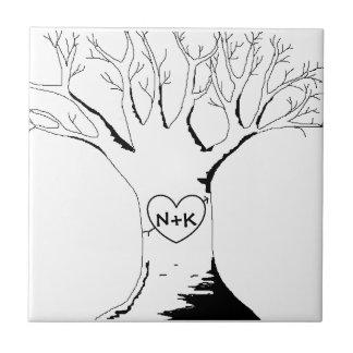 """Sweetheart Tree"" Tile"