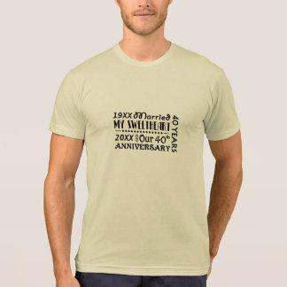 Sweethearts 40th Wedding Anniversary T-Shirt