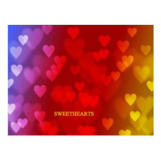 SWEETHEARTS POSTCARD
