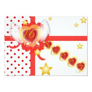 Sweetheart's Sweet Sixteen Gift-Customize Card