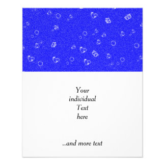 sweetie blue personalized flyer