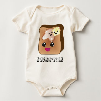 Sweetie French Toast Baby Baby Bodysuit