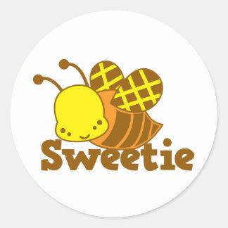 SWEETIE Honey Bee kawaii cutie design Stickers