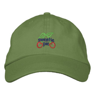 Sweetie Pie Embroidered Hats
