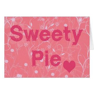 sweetie pie Valentine Card