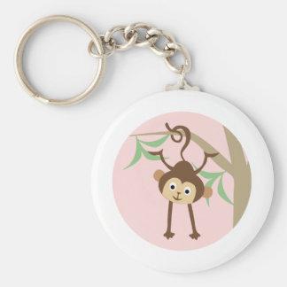 SweetLittleMonkey1 Basic Round Button Key Ring