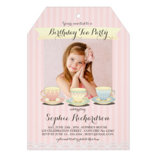 Browse the Girl's Birthday Invitations Collection and personalise by colour, design or style.