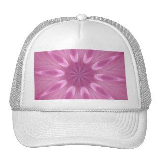 Sweetly Soft Pink Girly Kaleidoscope Hat