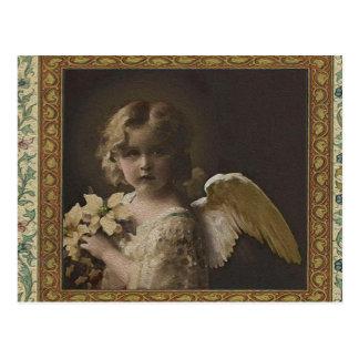 Sweetness - ittle Girl Angel Postcard