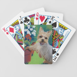 Sweetness Yorkie Bicycle Playing Cards