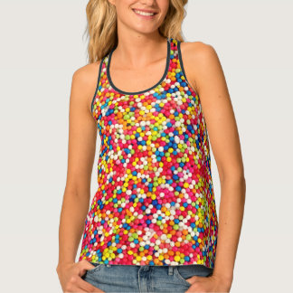 Sweets - all over pattern singlet