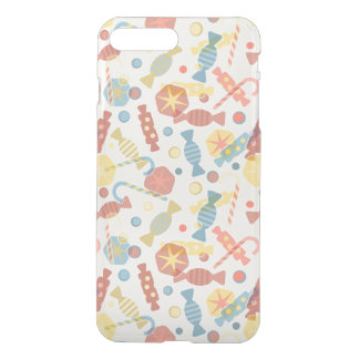 Sweets And Candy Pattern iPhone 7 Plus Case