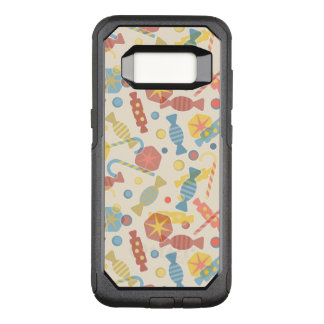 Sweets And Candy Pattern OtterBox Commuter Samsung Galaxy S8 Case