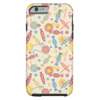 Sweets And Candy Pattern Tough iPhone 6 Case