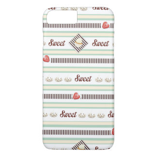 Sweets and Treats - Light Mint and Chocolate iPhone 7 Plus Case