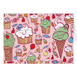 Sweets on Pink Card