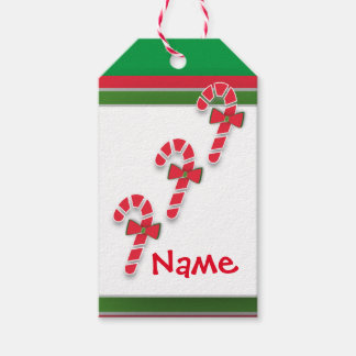 Sweets To The Sweet Christmas Candy Canes Tags