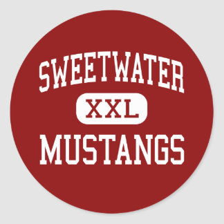 Sweetwater - Mustangs - High - Sweetwater Texas Stickers
