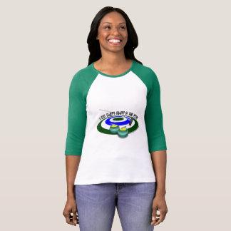 Swept Away Women's Raglan T-Shirt