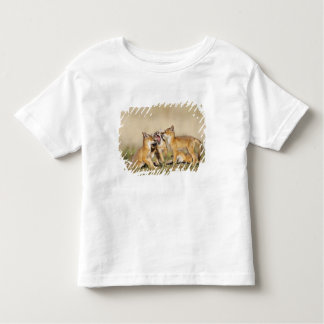Swift Fox (Vulpes macrotis) young at den burrow, Toddler T-Shirt